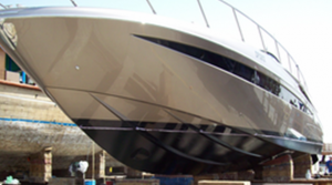 Silicone antifouling south of france yacht maintenance bottom painting shipyard haulout cannes antibes monaco st tropez